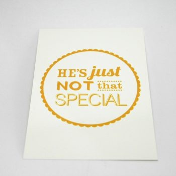Just Not THAT Special Postcards