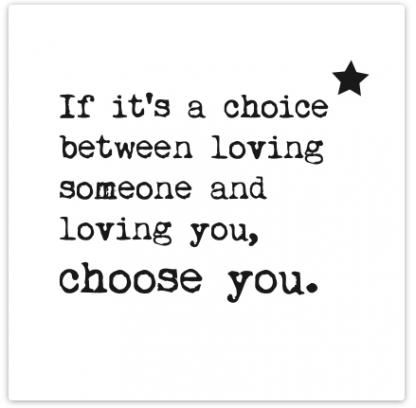 Choose You Card