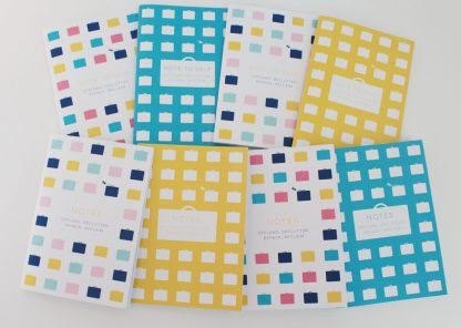 Baggage Reclaim colourful A6 notebooks