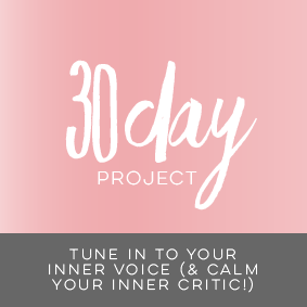 tune in to your inner voice and calm your inner critic course with Natalie Lue