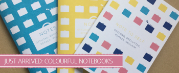 Colourful Notebooks