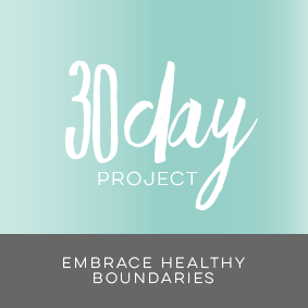 30 day project