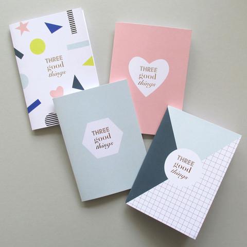 3 Good Things Notebook