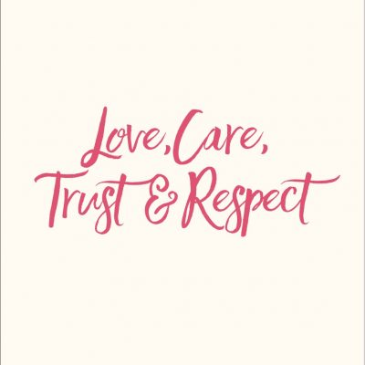 Love, Care, Trust & Respect book by Baggage Reclaim